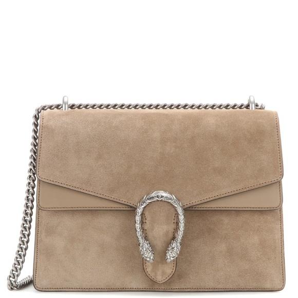 Gucci Handbags - AUTHENTIC Gucci Medium Dionysus Suede Purse
